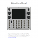Bitbox User's Manual Cover Page