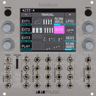 euroshield 1 - Synthesizer and Effects Development Board for